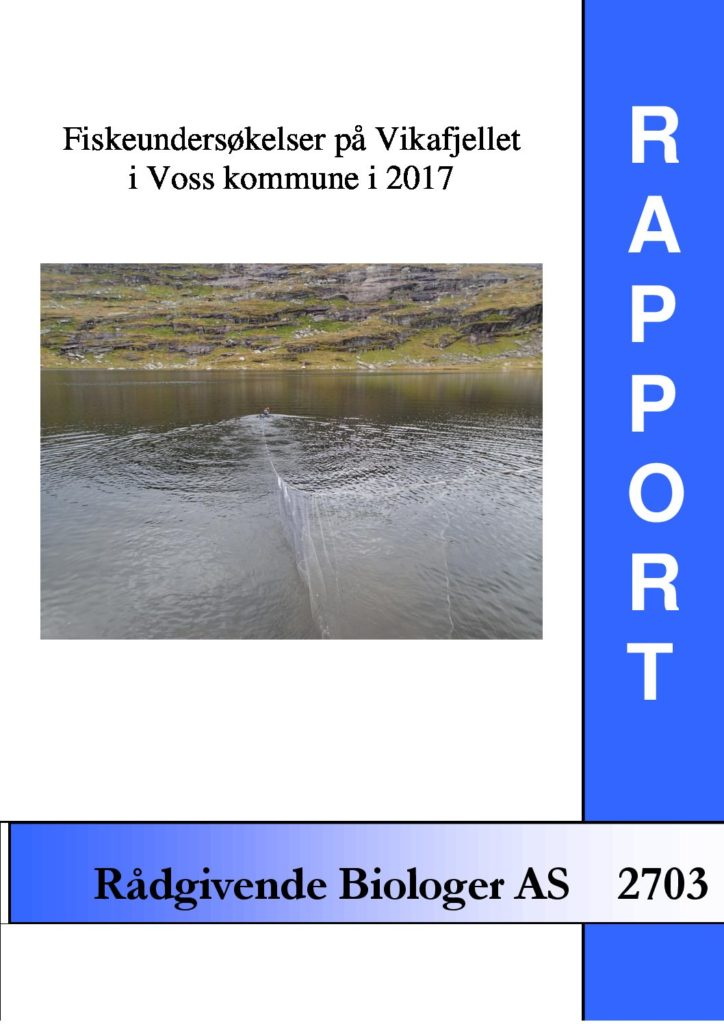 Rapport cover - rapport 2703