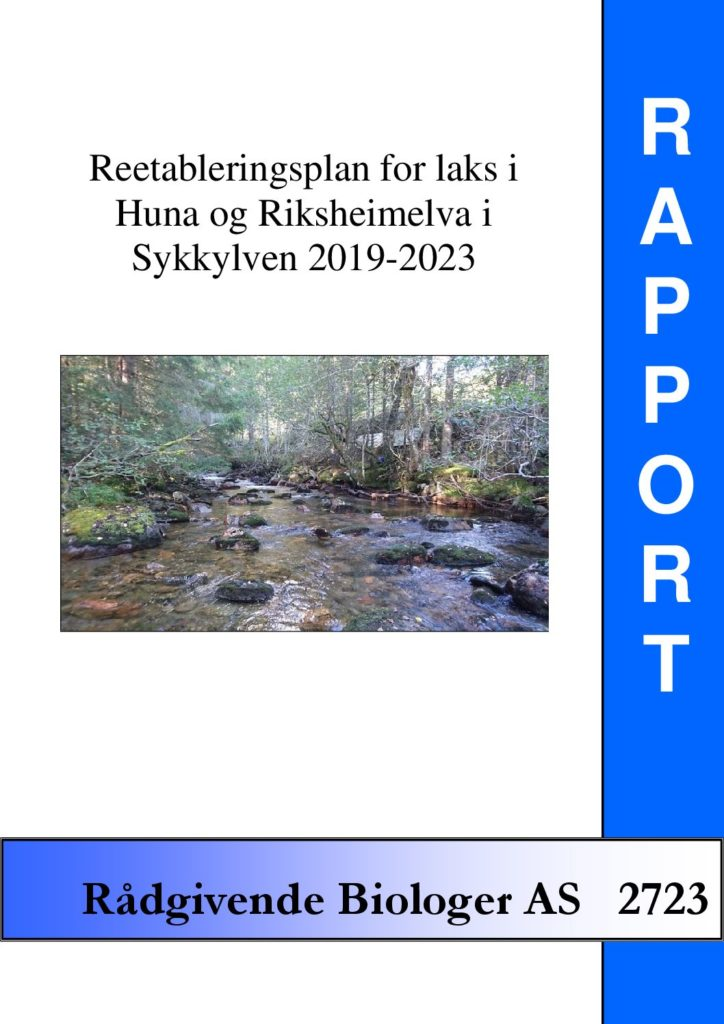 Rapport cover - rapport 2723