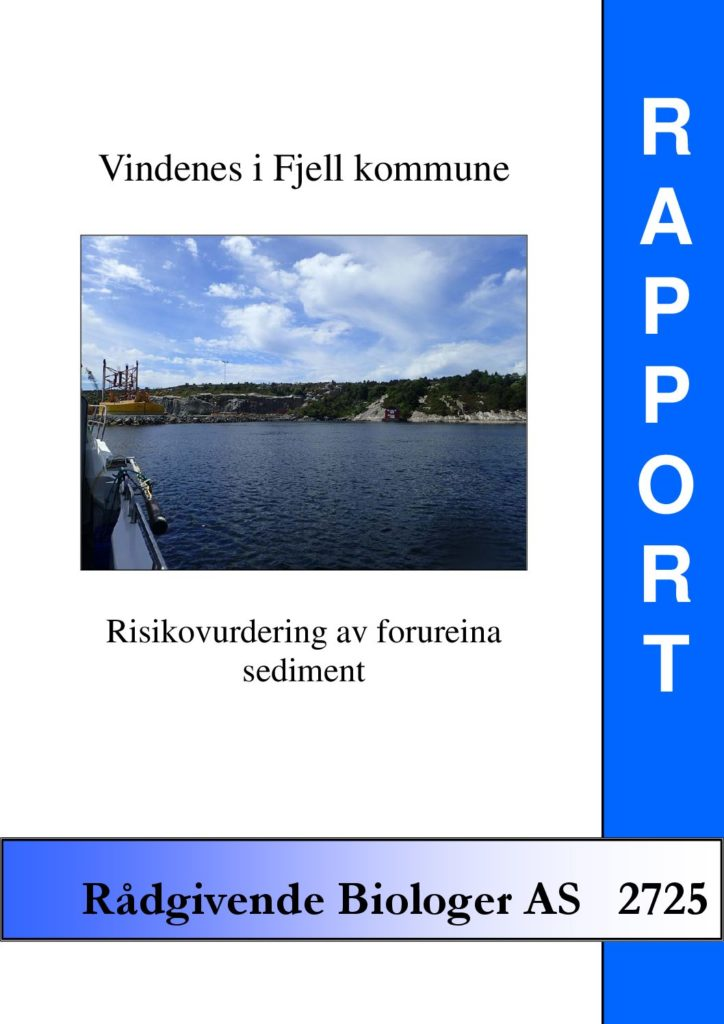 Rapport cover - rapport 2725