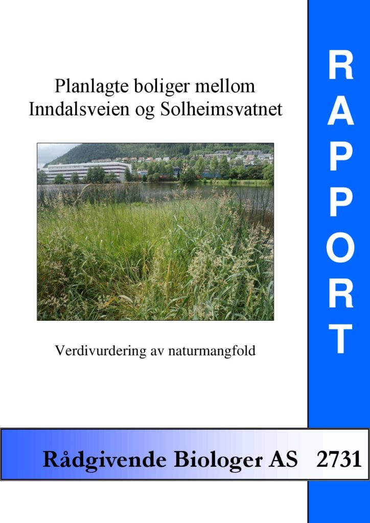Rapport cover - rapport 2731