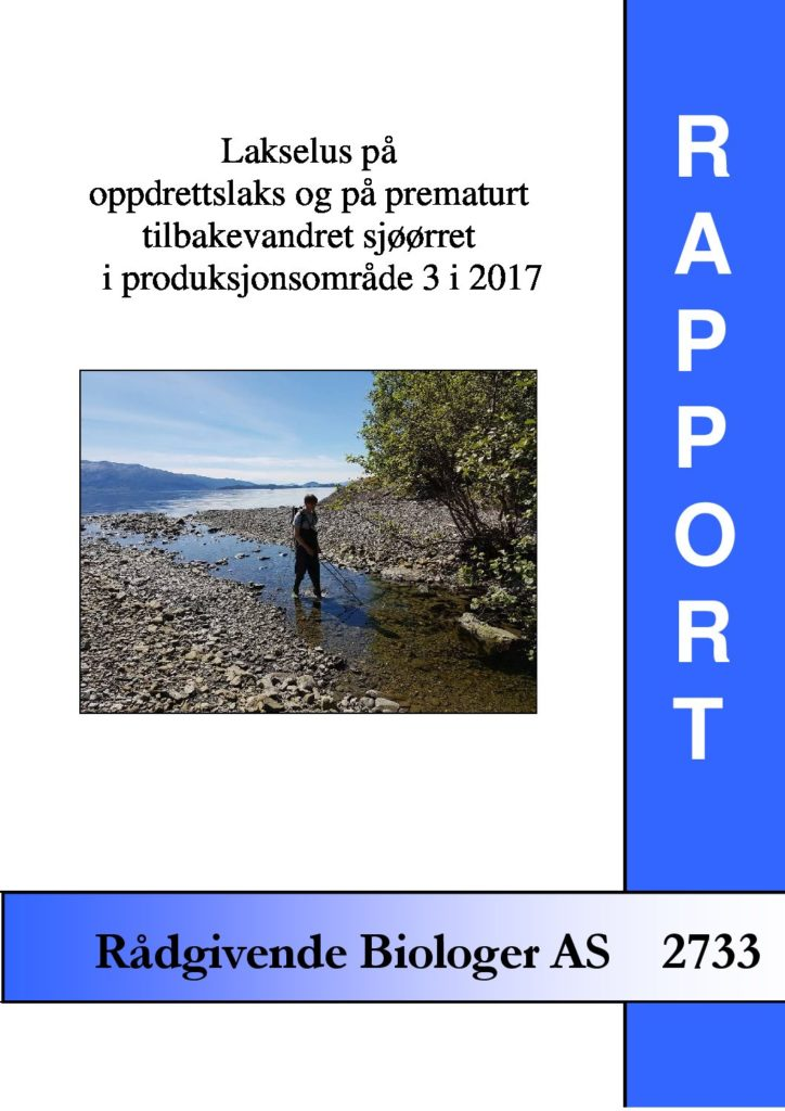 Rapport cover - rapport 2733