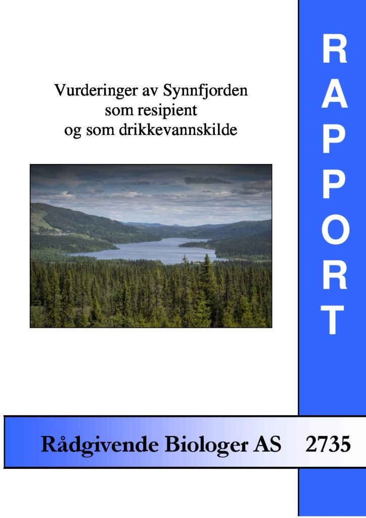 Rapport cover - rapport 2735