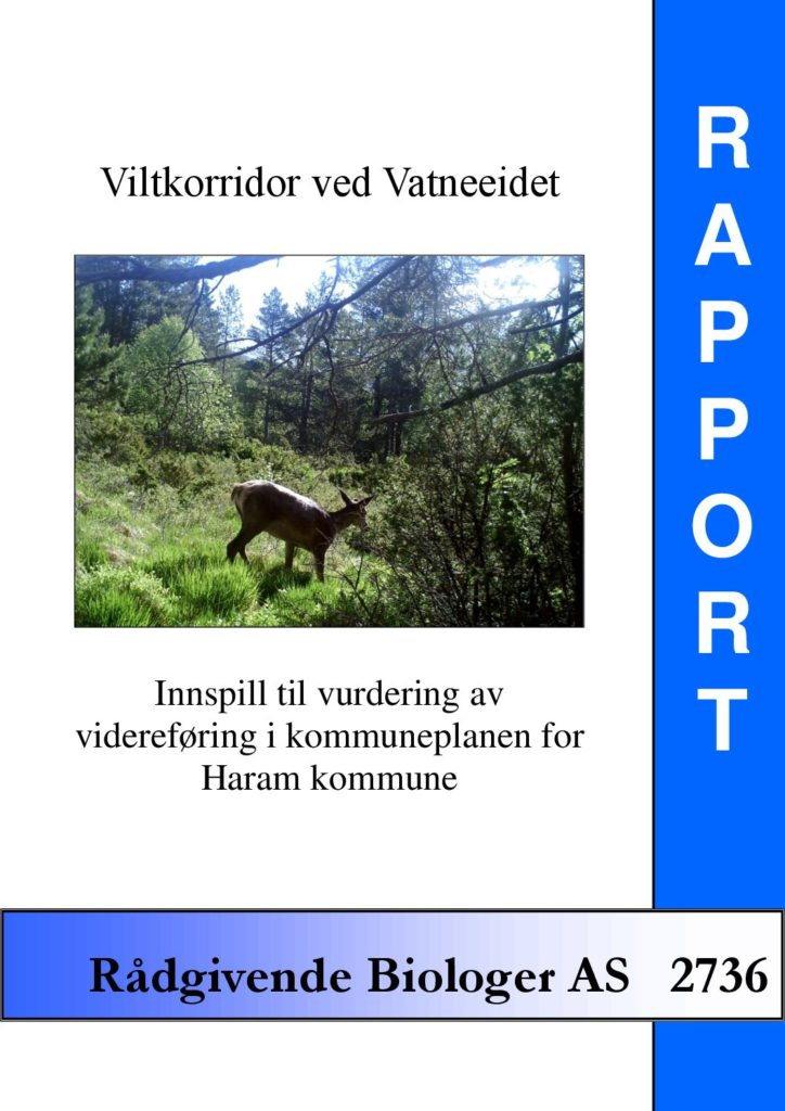 Rapport cover - rapport 2736