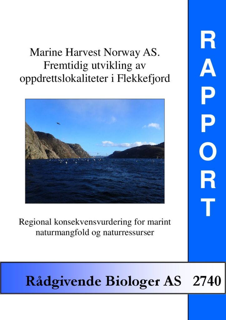 Rapport cover - rapport 2740
