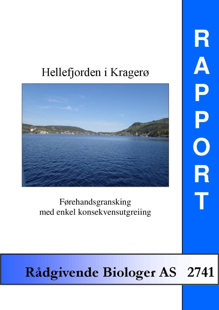 Rapport cover - rapport 2741