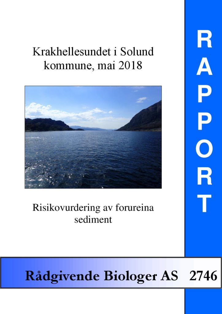 Rapport cover - rapport 2746