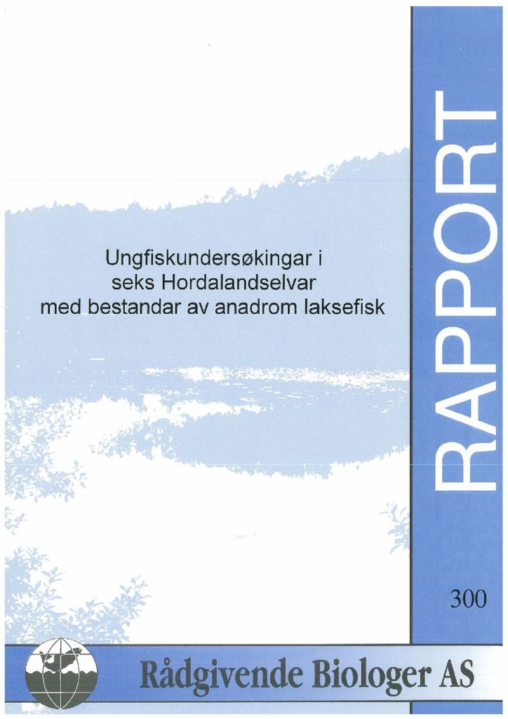 Rapport cover - rapport 300