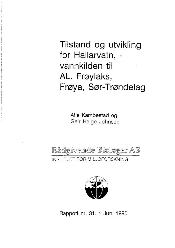 Rapport cover - rapport 31