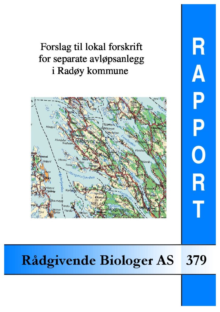 Rapport cover - rapport 379