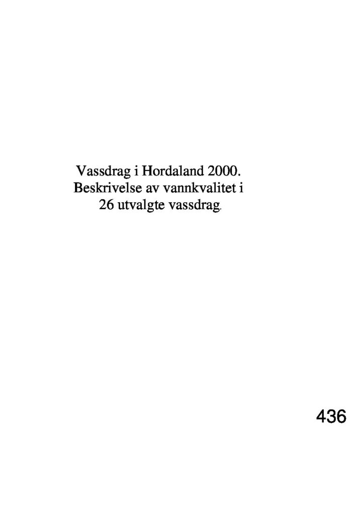 Rapport cover - rapport 436