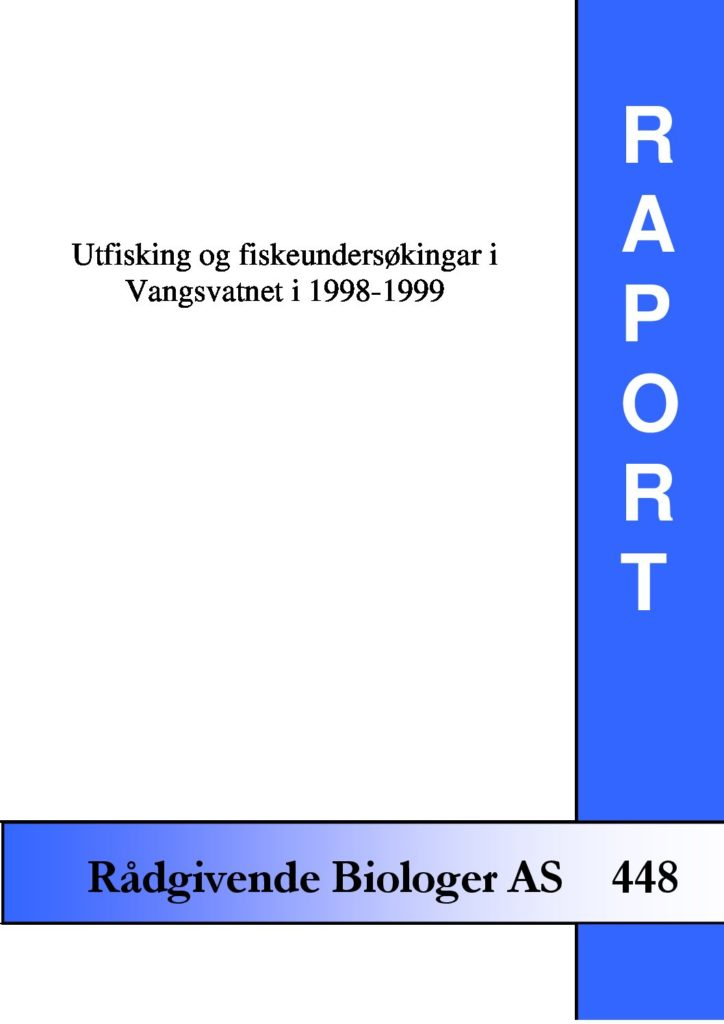 Rapport cover - rapport 448