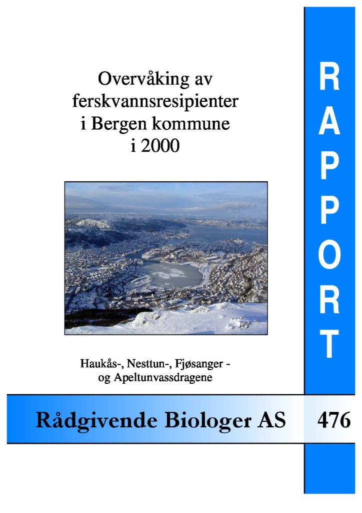 Rapport cover - rapport 476
