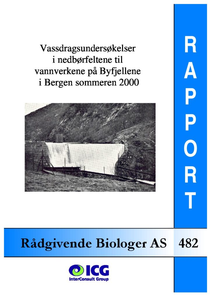 Rapport cover - rapport 482