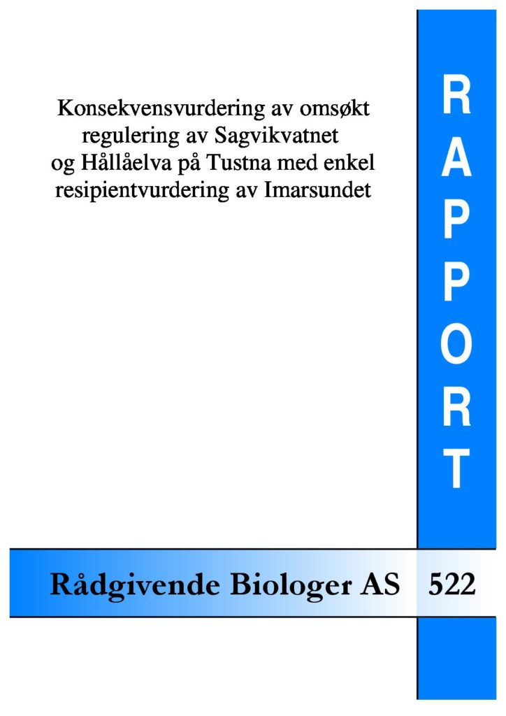 Rapport cover - rapport 522