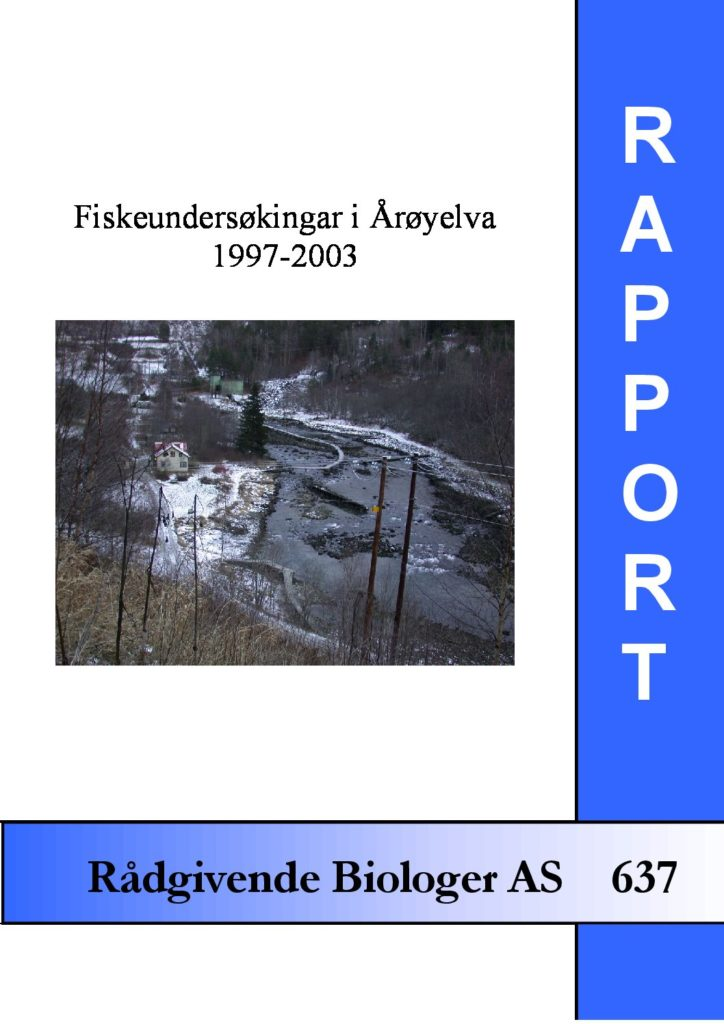 Rapport cover - rapport 637