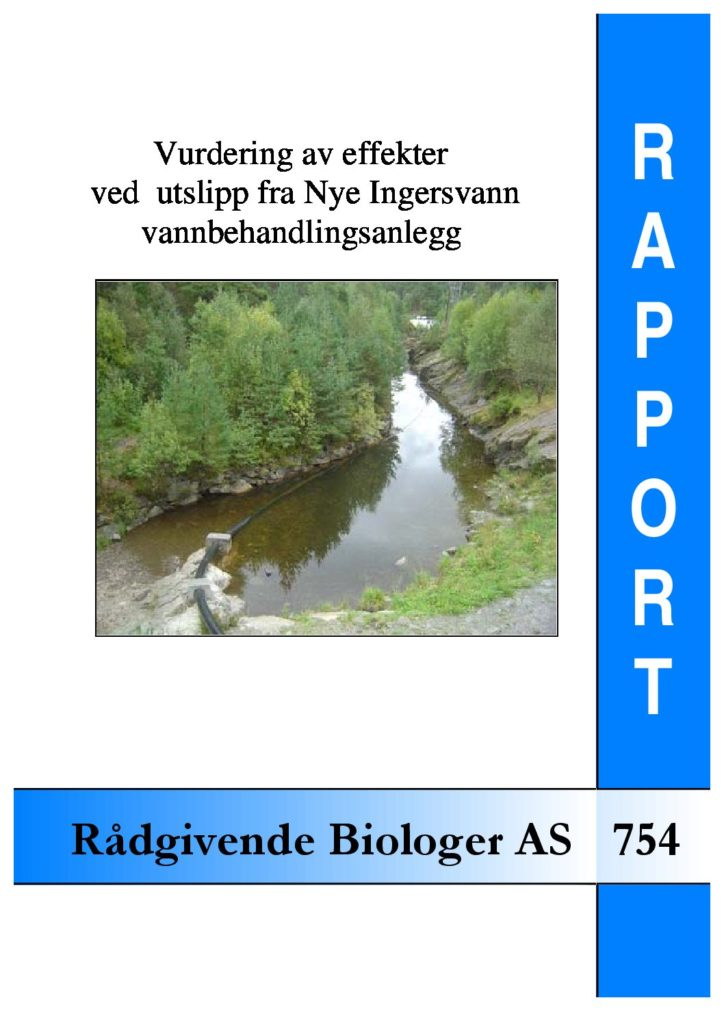 Rapport cover - rapport 754