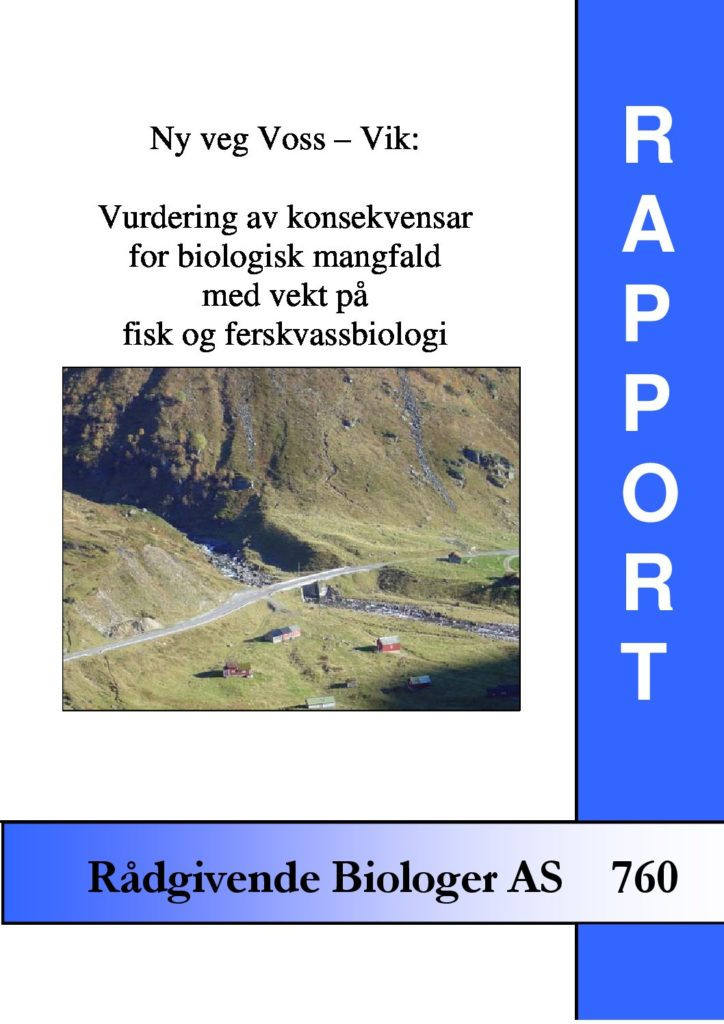 Rapport cover - rapport 760