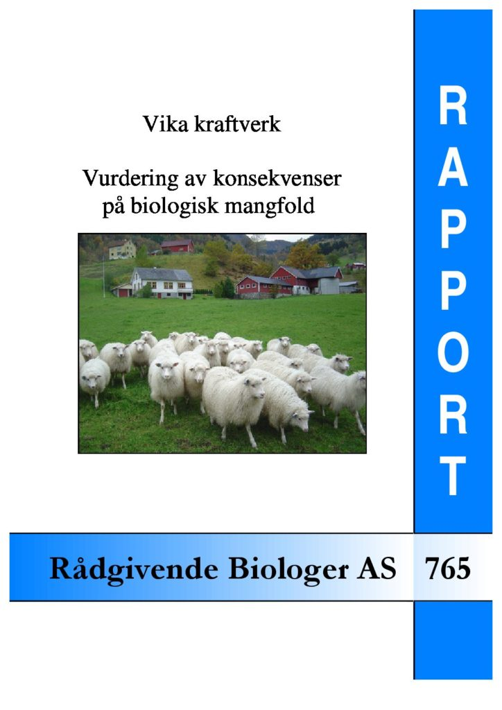 Rapport cover - rapport 765