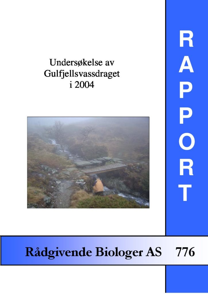 Rapport cover - rapport 776