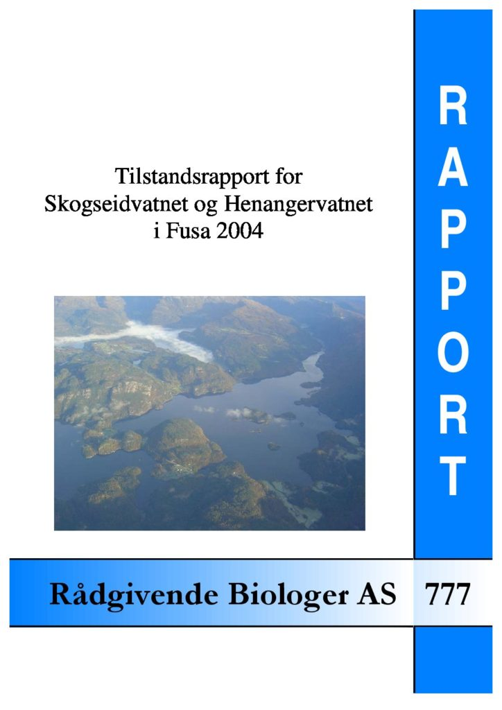 Rapport cover - rapport 777