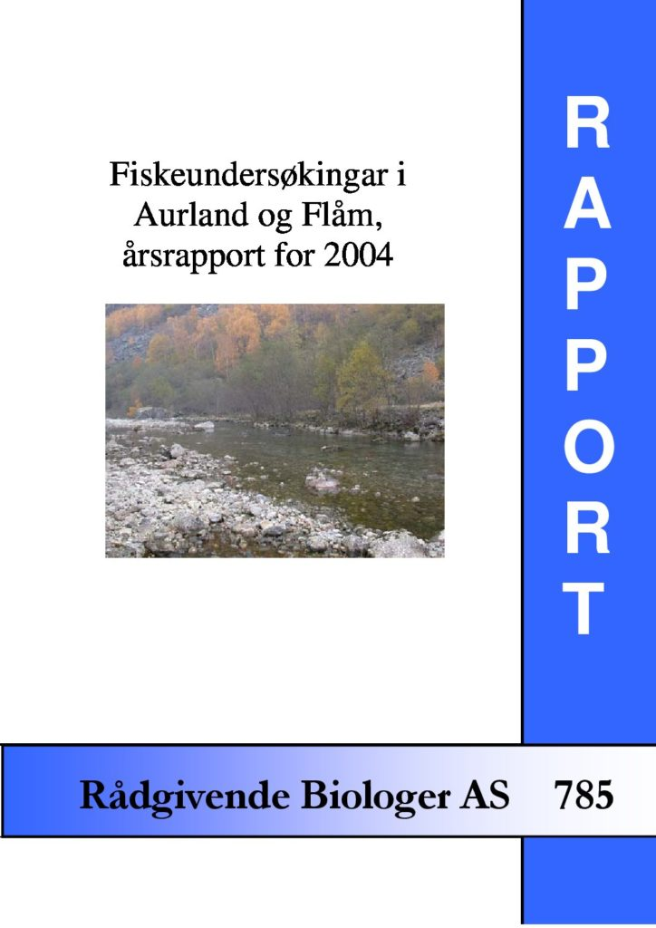 Rapport cover - rapport 785