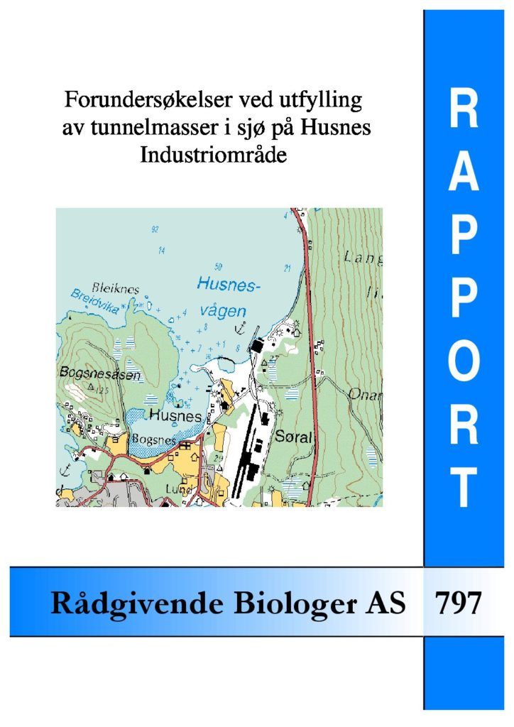 Rapport cover - rapport 797