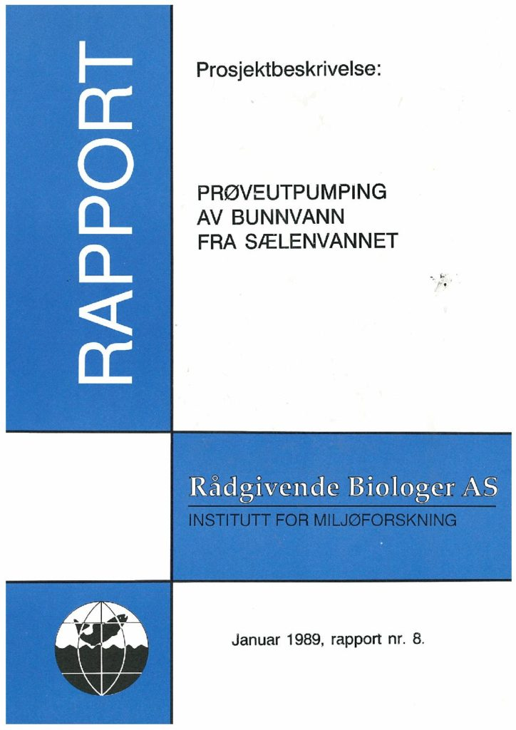 Rapport cover - rapport 8