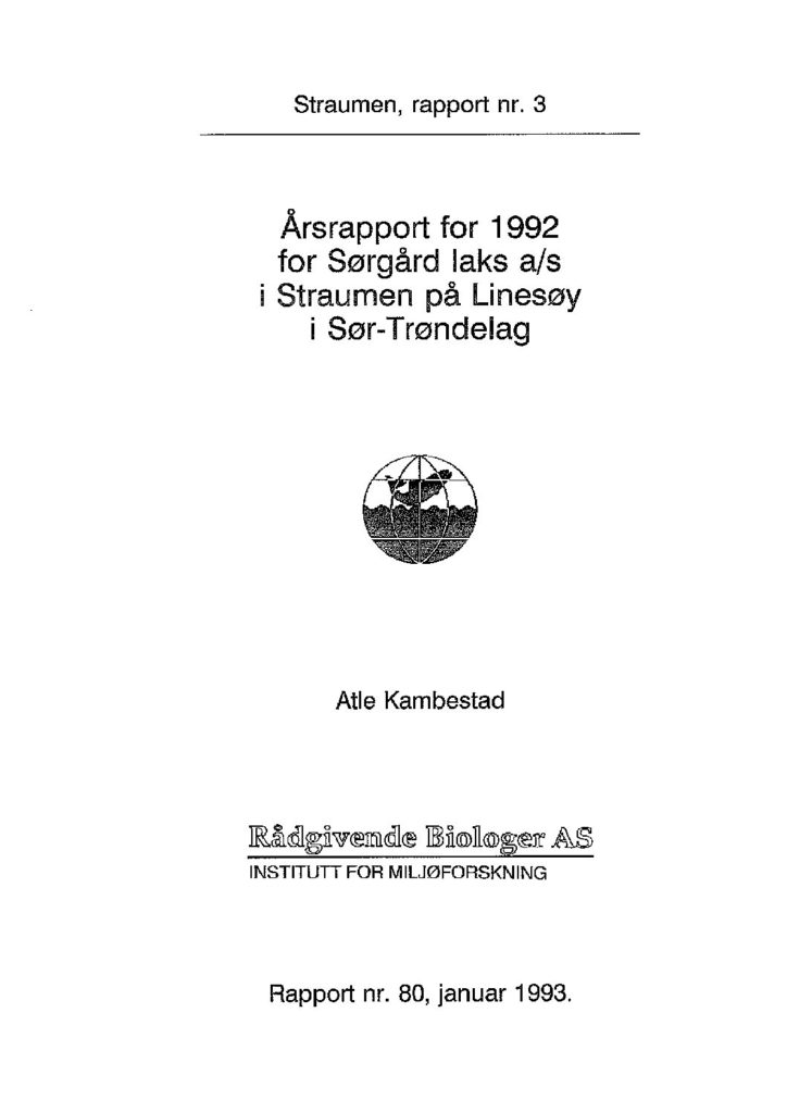 Rapport cover - rapport 80