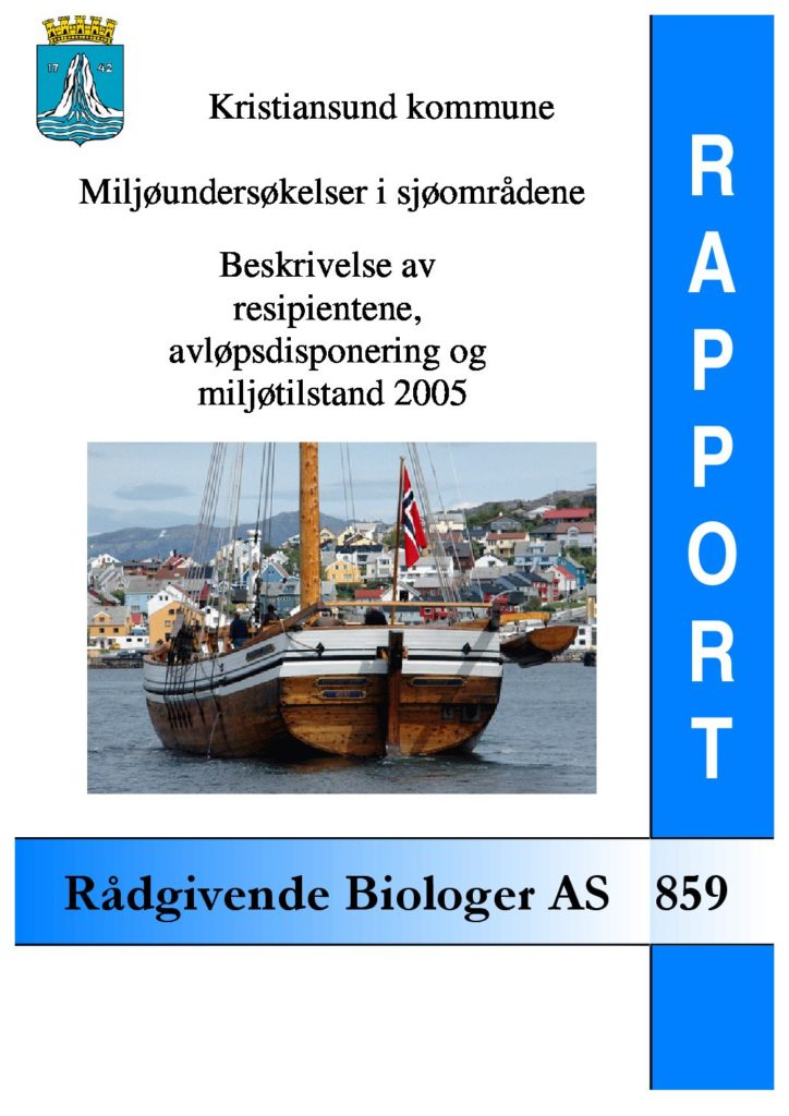 Rapport cover - rapport 859