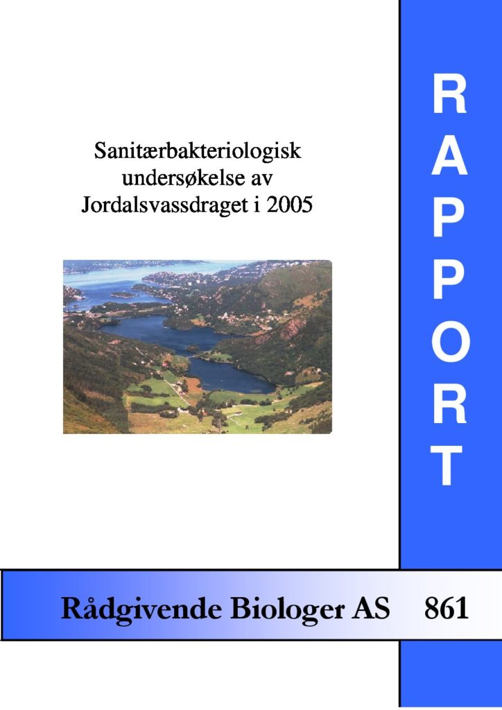 Rapport cover - rapport 861