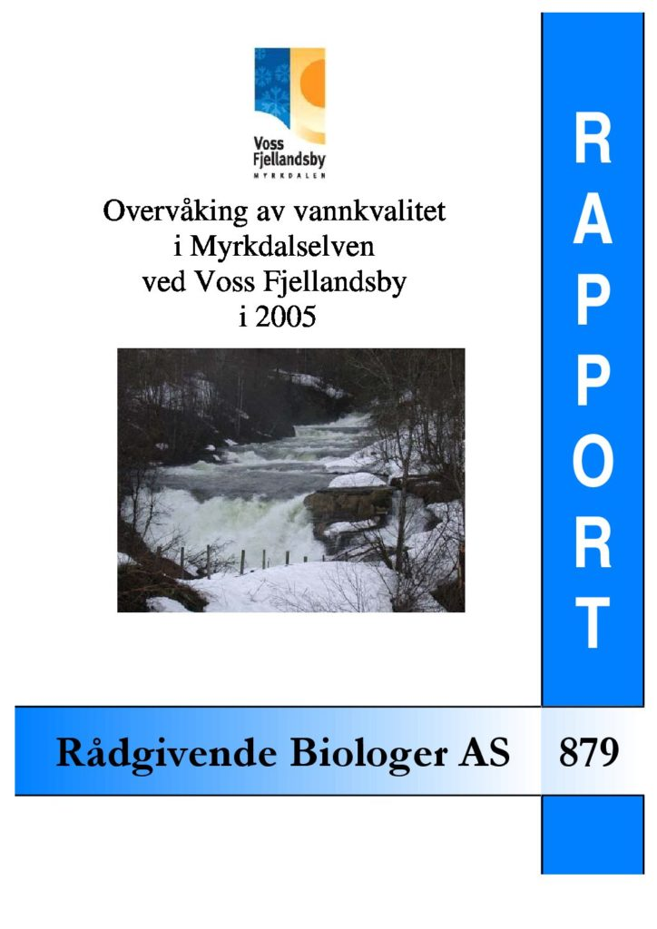 Rapport cover - rapport 879