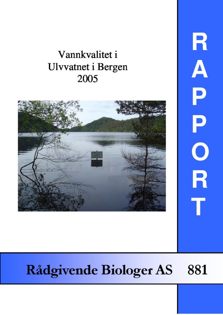 Rapport cover - rapport 881