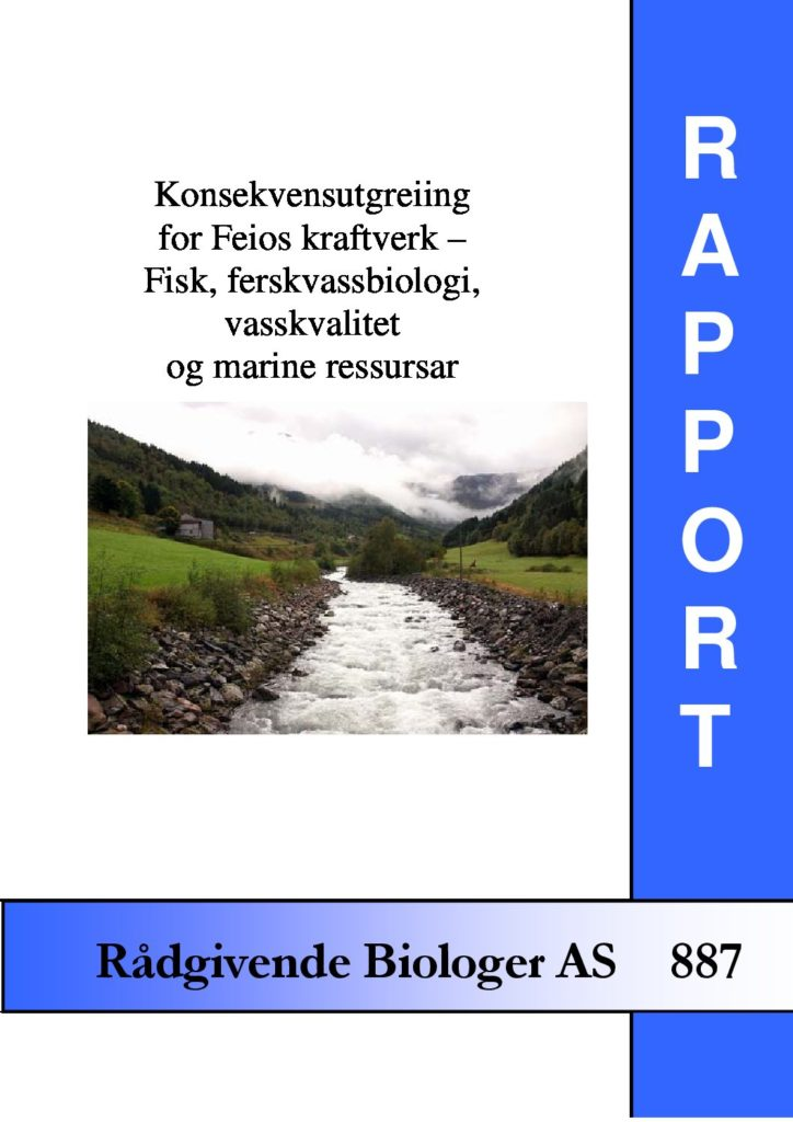 Rapport cover - rapport 887