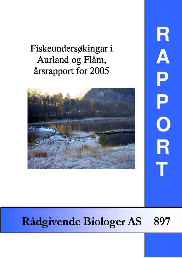 Rapport cover - rapport 897