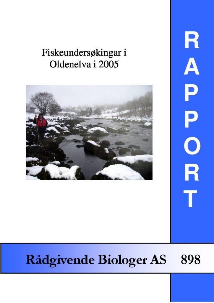 Rapport cover - rapport 898
