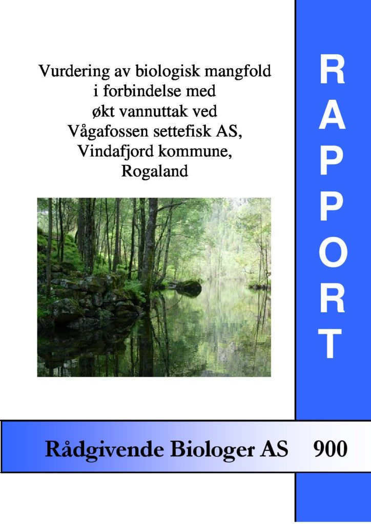 Rapport cover - rapport 900