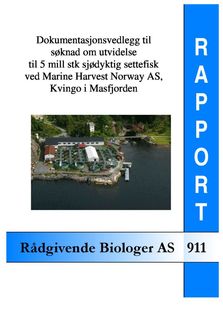 Rapport cover - rapport 911