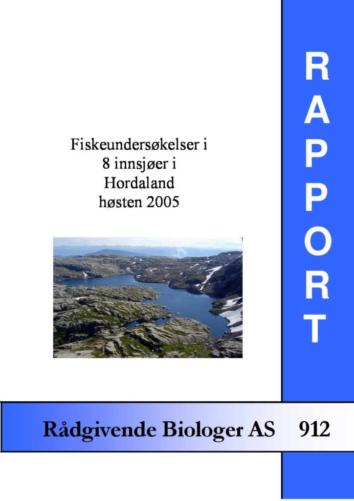 Rapport cover - rapport 912