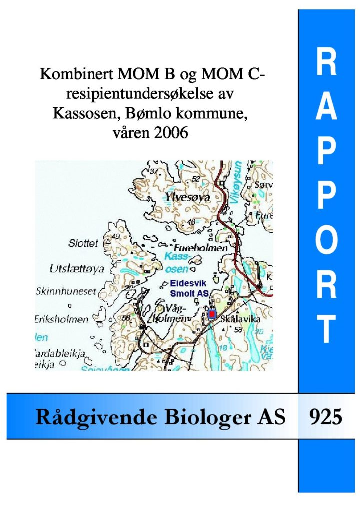 Rapport cover - rapport 925