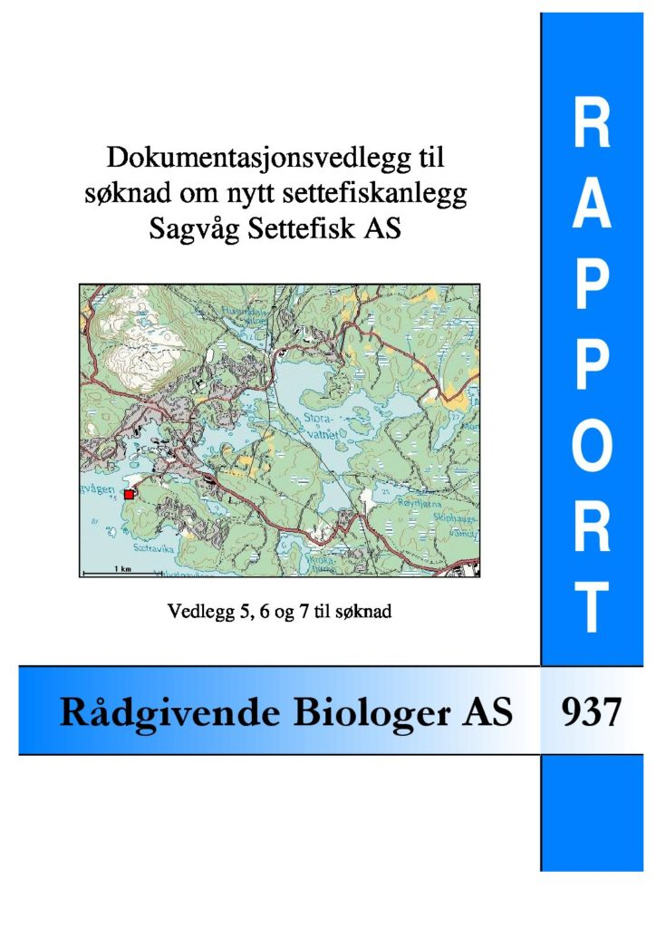 Rapport cover - rapport 937