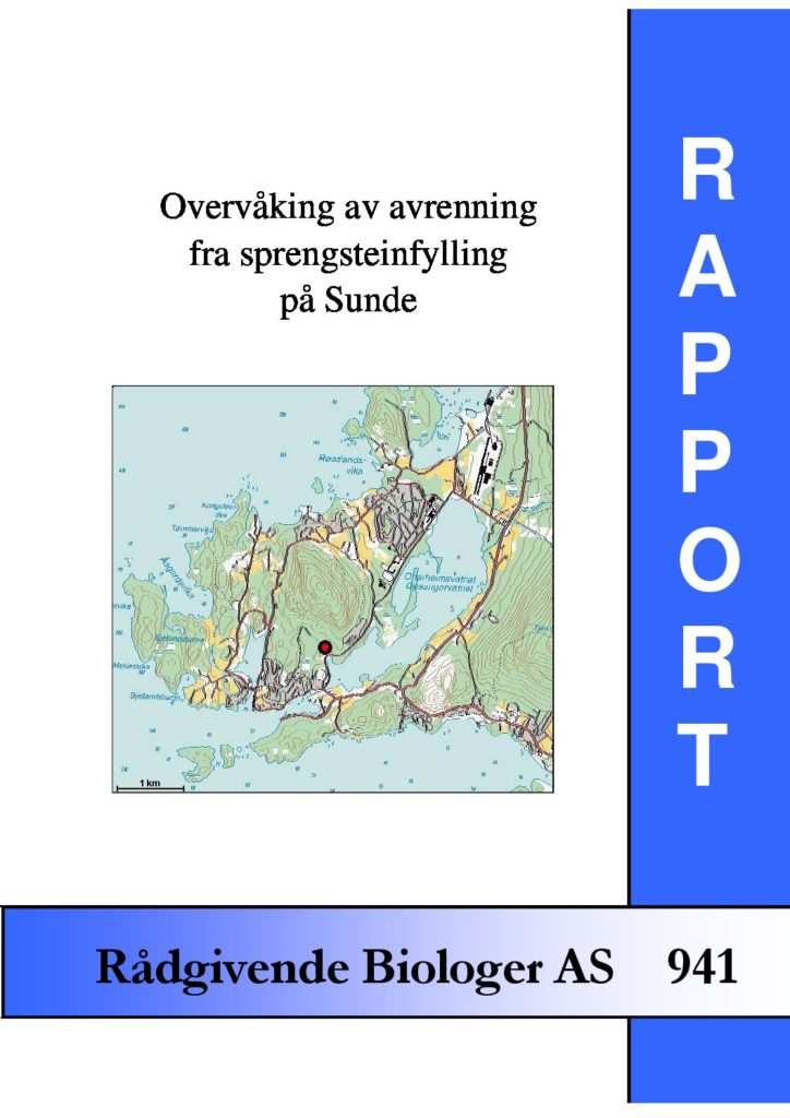 Rapport cover - rapport 941