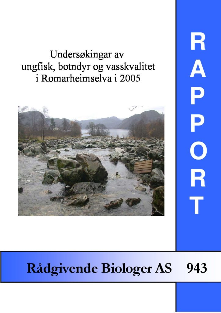 Rapport cover - rapport 943