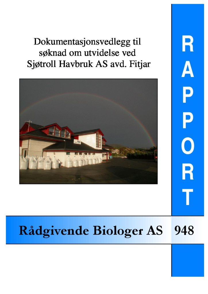 Rapport cover - rapport 948