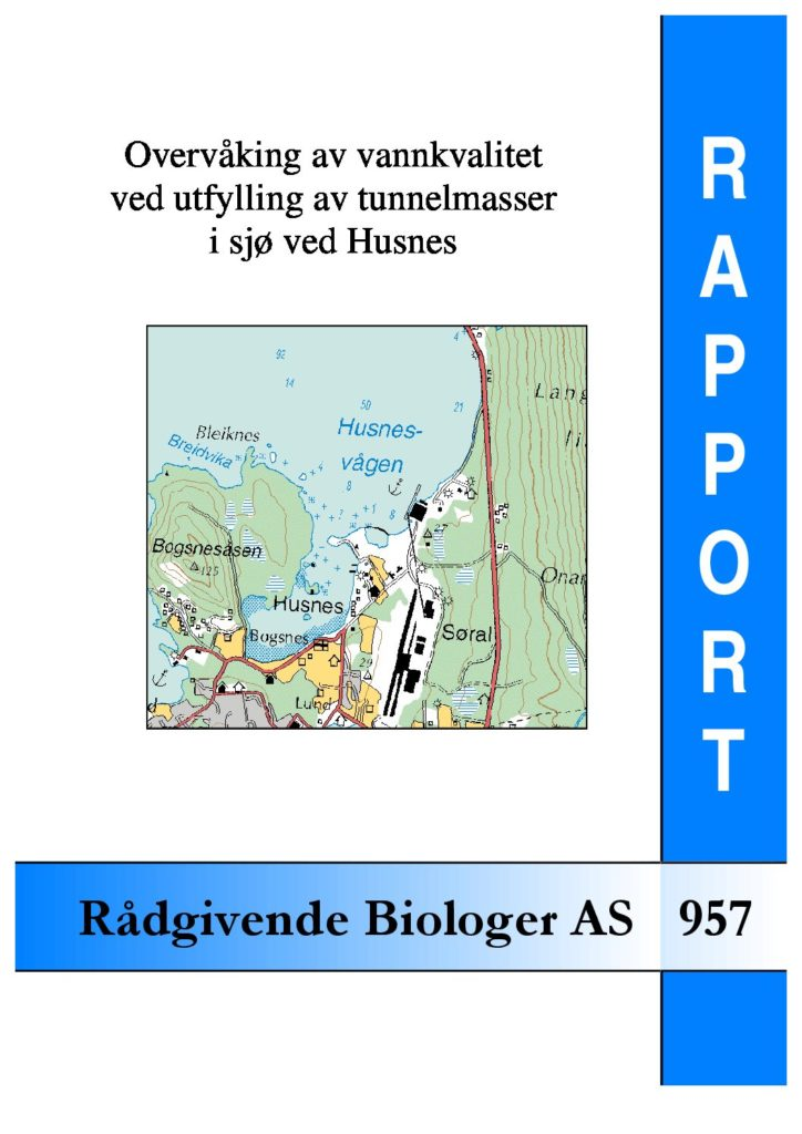Rapport cover - rapport 957