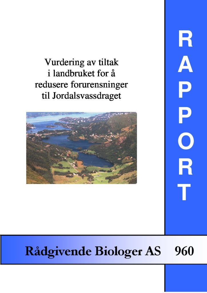 Rapport cover - rapport 960