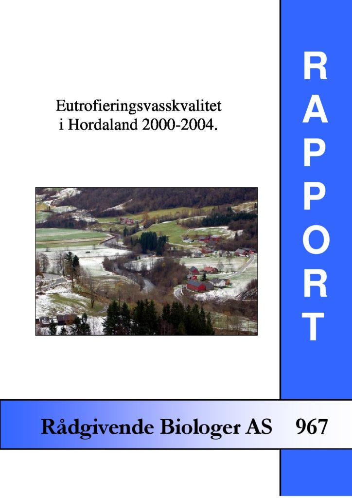 Rapport cover - rapport 967