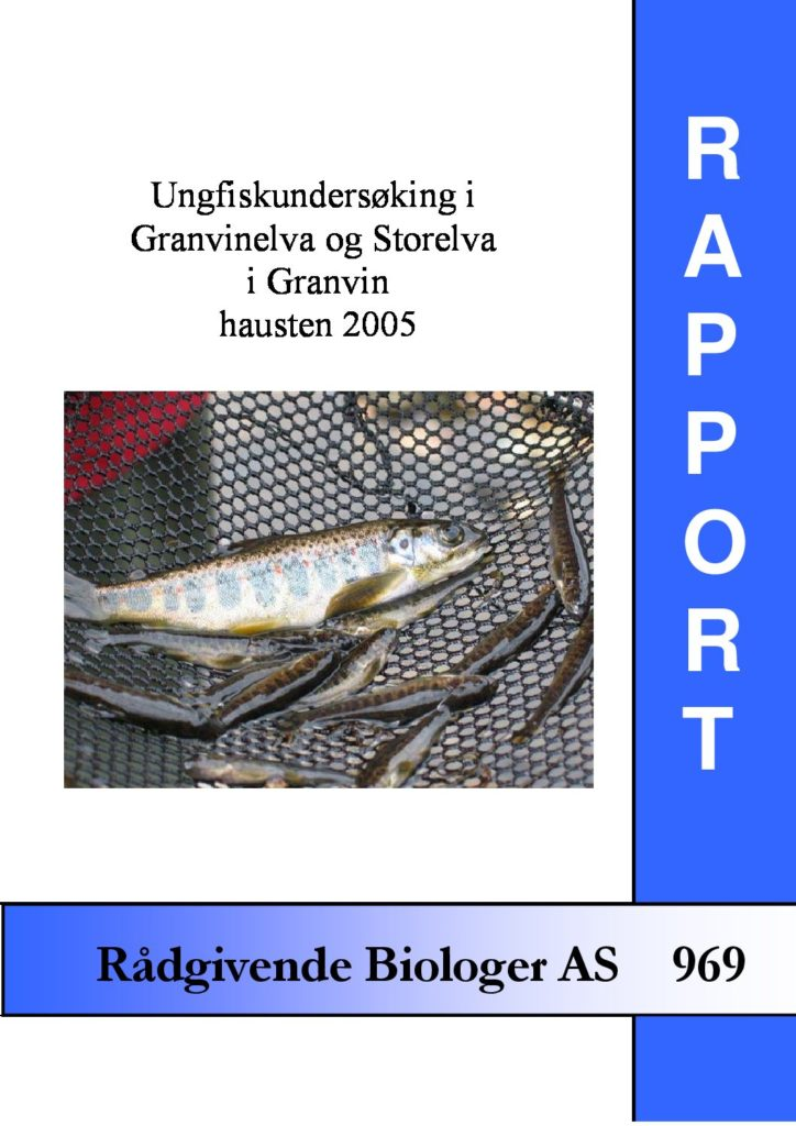 Rapport cover - rapport 969