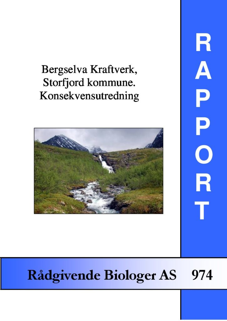 Rapport cover - rapport 974