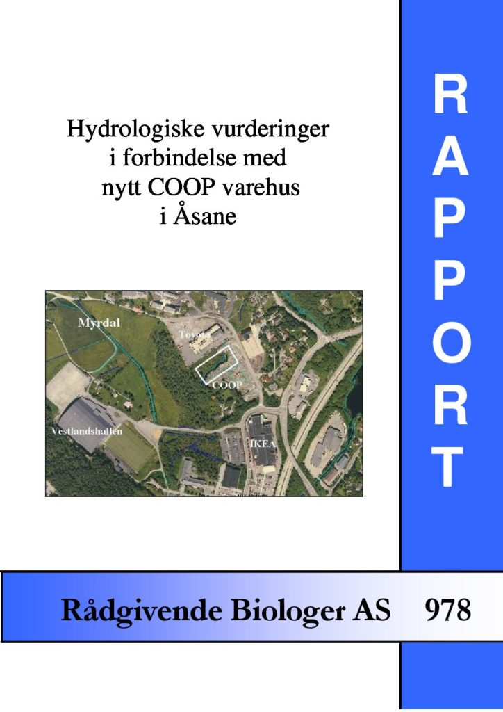 Rapport cover - rapport 978