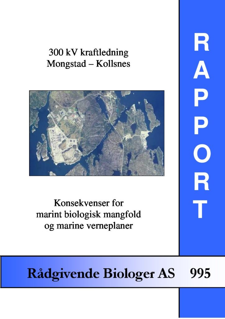 Rapport cover - rapport 995